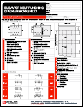 Elevator Belt Punching Diagram Worksheet