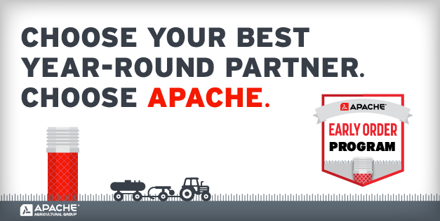 Choose your best partner this season. Choose Apache.