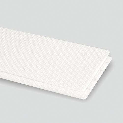 2-Ply 100# Polyester Monofilament White PVC Bare x Bare