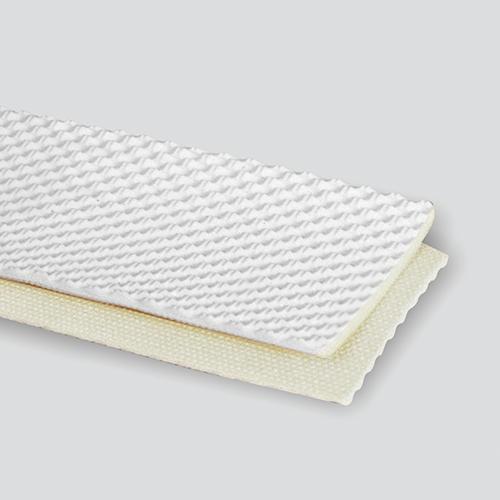 2-Ply 50# Polyester Monofilament White RMV Pebbletop Cover x Bare