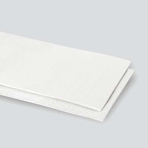 2-Ply 34# Polyester White Urethane Cover x Bare