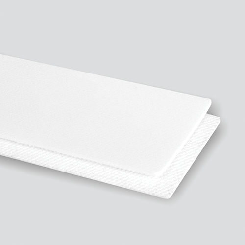 2-Ply 65# Polyester White Urethane Cover x Bare (Non Fray)
