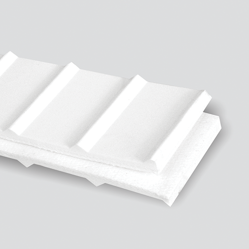 2-Ply 100# Polyester White RMV Meat-cleat Cover x Friction