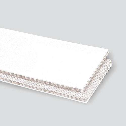 2-Ply 70# Polyester White Nitrile Cover x Friction