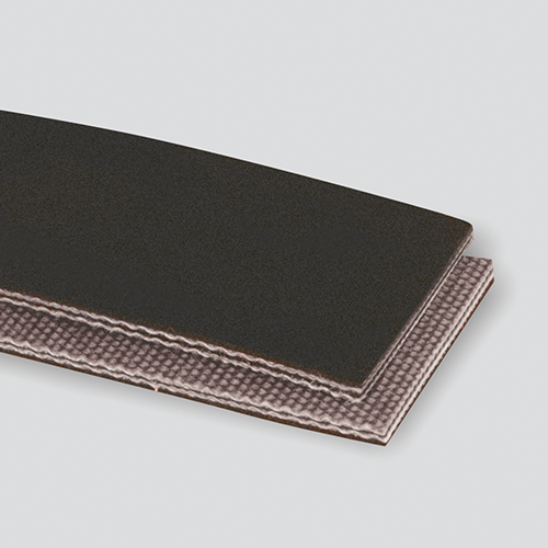 2-Ply 150# Polyester Black PVG Matte Cover x Brushed