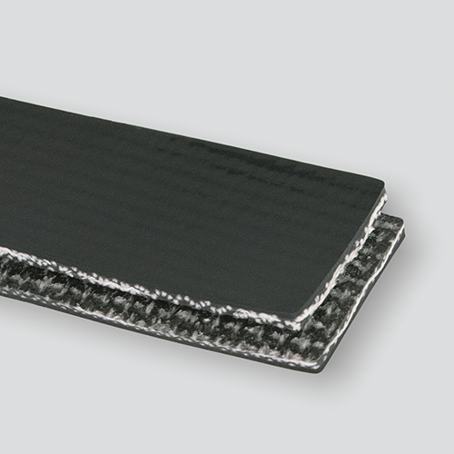 Interwoven 120# Polyester Black PVC Cover x Brushed
