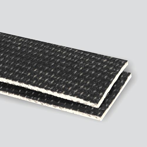 Interwoven 150# Polyester Black PVC Friction x Brushed