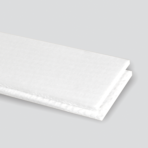 Interwoven 120# Polyester White PVC Cover x Friction