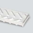 Interwoven 120# Polyester White PVC Chevron Top x Friction