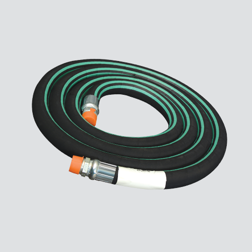 "1"" x 12' Nylon Braid Reinforced Anhydrous Ammonia (NH3) Hose Assembly"