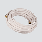 "3/4"" x 25' Oil Resistant Washdown Hose Assembly"