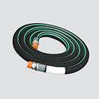 "1"" x 10' Nylon Braid Reinforced Anhydrous Ammonia (NH3) Hose Assembly"