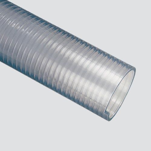 "4"" Clear PVC Food Hose — Bulk/Uncoupled"