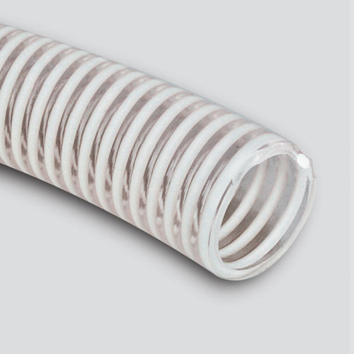 "1"" x 50' Clear PVC Suction Hose — Bulk/Uncoupled"