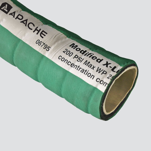 "1"" Green Modified XLPE Chemical Hose — Bulk/Uncoupled"