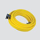 "1"" x 50' Wire Braid Air Hose Assembly — Universal Boss/2 Bolt"