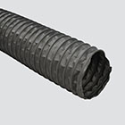 "1-1/2"" Neoprene Coated Fabric with Wire Helix Ducting Hose (CW-GP) — Bulk/Uncoupled"