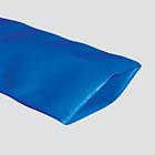"1-1/2"" Blue Standard-Duty PVC Layflat Discharge Hose — Bulk/Uncoupled"
