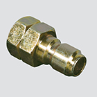 """1/4"""" Quick Disconnect Plug x 1/4"""" Female Pipe Thread Pressure Washer Adapter"""