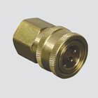 "1/4"" Quick Disconnect Socket x 1/4"" Female Pipe Thread Pressure Washer Adapter"