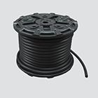 """1"""" x 100' Black 300 PSI Multipurpose (AG 300) Air & Water Hose — Reel"""