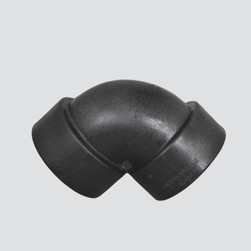 "1"" Schedule 80 Female Pipe Thread 90° Elbow — Polypropylene"