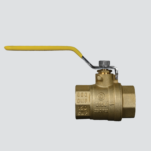 "1/4"" Full Port Brass Ball Valve"