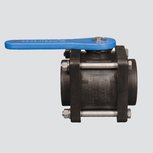 "2"" Female x Female Pipe Thread Compact Bolted Polypropylene Ball Valve"