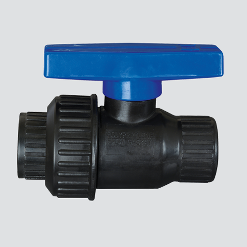 "1"" Single Union Polypropylene Ball Valve"