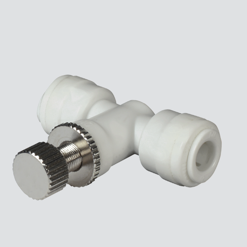 "1/2"" Poly Hand Valve Push-In Fitting"