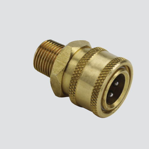 "1/4"" Quick Disconnect Plug x 1/4"" Male Pipe Thread Pressure Washer Adapter"