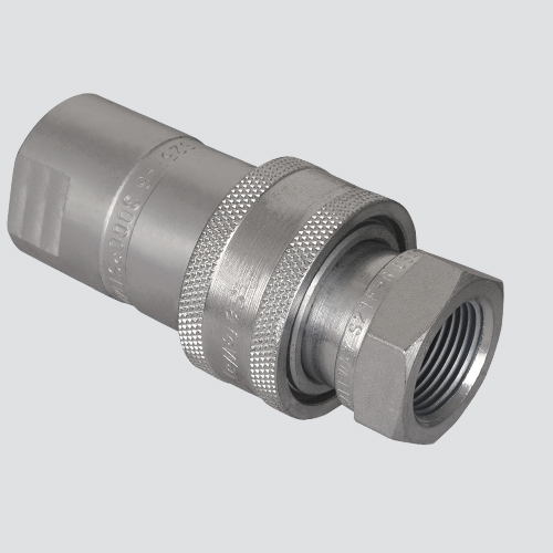 "1/2"" Female Pipe Thread x 1/2"" Body One-Way Sleeve Hydraulic Quick Disconnect (S20-4P)"