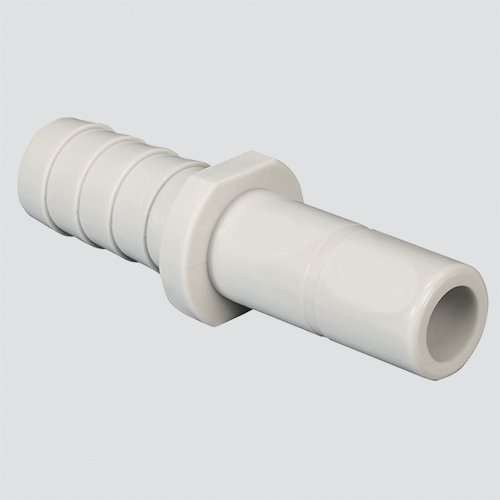 "1/2"" Tube x 1/2"" Stem Barb Connector Push-On Fitting"