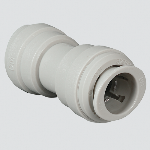 "1/2"" x 3/8"" Union Connector Push-In Fitting"