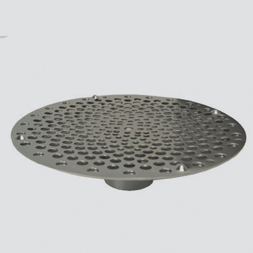 "1-1/2"" Bottom Hole Suction Skimmer — Plated Steel"