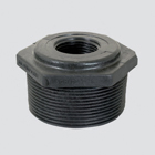 "1/2"" Male Pipe Thread x 1/4"" Female Pipe Thread Schedule 80 Reducer Bushing — Polypropylene"