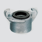 "1-1/2"" Sandblast Female Pipe Thread Coupling x Gasket Seal"