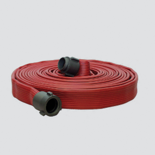 "2-1/2"" x 50' Nitrile Cover Hose Fire Suppression Hose Assembly"