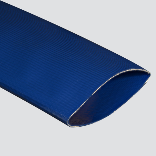 "1-1/2"" Blue Multipurpose Potable Water Polyurethane Layflat Discharge Hose — Bulk/Uncoupled"