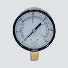"1-1/2"" 100 PSI Dry Pressure Gauge — 1/8"" Male Pipe Thread Lower Mount"