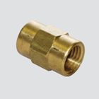 "1/4"" Female Pipe Thread x 1/4"" Female Pipe Thread Pressure Washer Adapter (Unpackaged)"