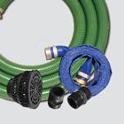 "1-1/2"" Water Transfer Pump Kit — Aluminum Fittings & Poly Adapters"