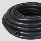 "1"" x 10' Black 300 PSI Multipurpose (AG 300) Air & Water Hose — Coiled"
