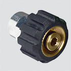 "1/4"" Female Pipe Thread x Female Metric Pressure Washer Adapter"