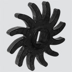 "20 mm 12 Finger 9.1"" Rubber Recycling Star"