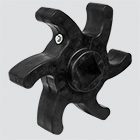 60 mm 6 Finger Split Rubber Recycling Star