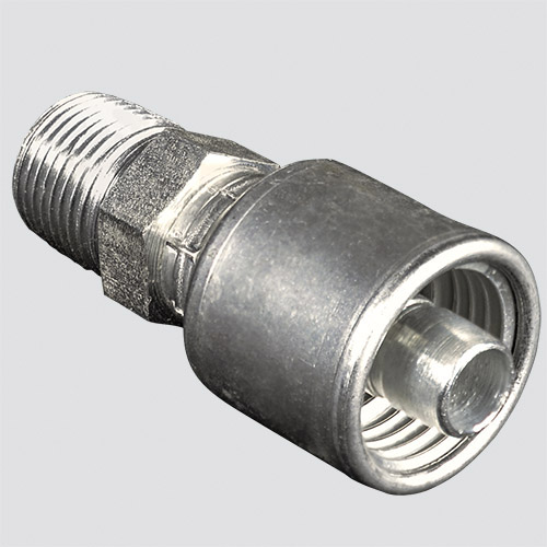 "1/2"" Gates MegaCrimp® x 1/2"" Male Pipe Thread Hydraulic Fitting"
