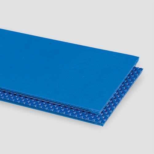 2-Ply 100# Polyester Monofilament Blue PVC Cover x Quad