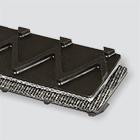 2-Ply 110# Spun Polyester Black PVC Z-Top x Brushed
