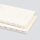 1-Ply 150# Plastic Mesh Ziplink White Nitrile 1/32 x Bare